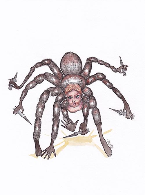 6-5 Don José l'homme araignée